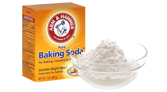 baking soda onkruid